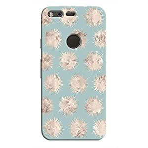 Cover It Up - Silver Star Pale Blue Pixel Hard Case