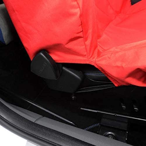 UK Custom Covers SC248R Tailored Waterproof Front Seat Cover x1 Red
