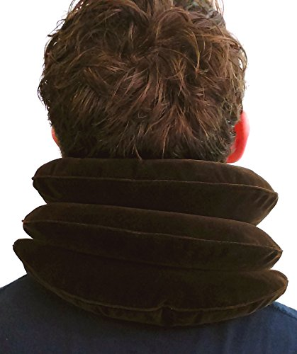 Cervical Neck Traction Device-Neck Stretcher For Home Neck Traction Fast Neck Pain Relief Aligns Spine Relieves Pressure Adjustable Inflatable Neck Brace Easy to use at Home Work or Travel by JDOHS (Image #1)