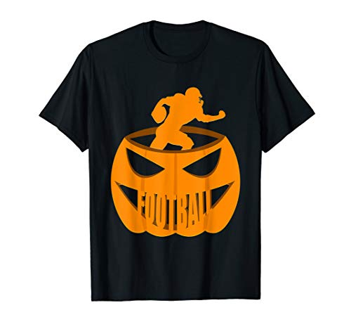 Football Pumpkin Costume T-Shirt October 31st]()