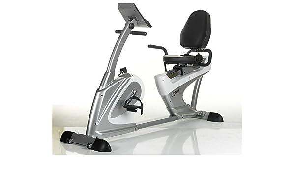 DKN Technology RB-3i Bicicleta de ejercicio reclinable con Bluetooth Tablet Integration: Amazon.es: Deportes y aire libre