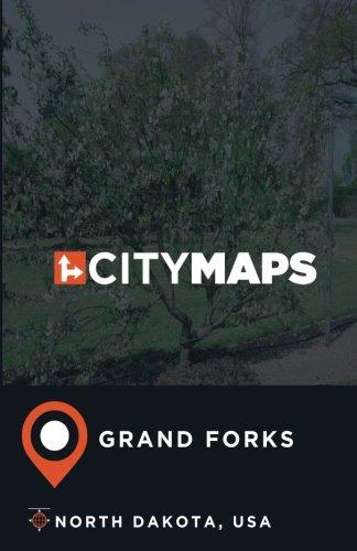 City Maps Grand Forks North Dakota, -