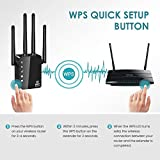 WiFi Extender, 1200Mbps WiFi Signal Booster, WiFi