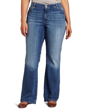 Women's Plus-Size 590 Bootcut Jean