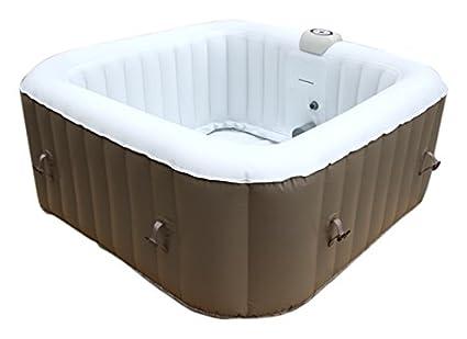 aquaparx Whirlpool AP de 600spa Square * rectangular 155 x 155 * pool 4personen Wellness cuadrado