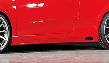 Rieger Potenciador de Lado Negro Mate para Opel Astra H GTC/Twin Top