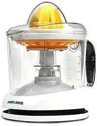 Get 1-Quart Standard-Sized Cone Citrus Mate Juicer, White wholesale