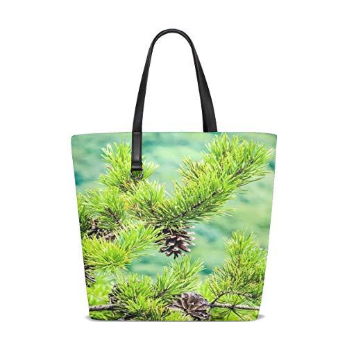 WJJSXKA Women Beautiful Blue Ridge Parkway Charlotte Handle Satchel Handbags Shoulder Bag Tote Purse Messenger Bags