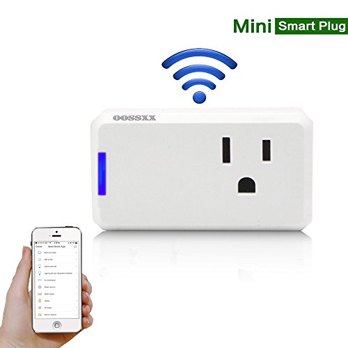 Superior Quality Mini Wifi-Enabled Smart Outlet By OOSSXX - No-Hub Wireless Plug - Compatible With Lights, Home Appliances - Remote Control With Smartphone/Tablet - Works W/Amazon Alexa by OOSSXX (Image #9)