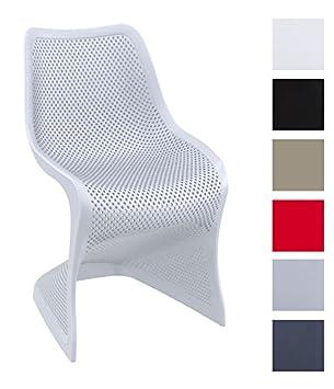 Clp Chaise Design Bloom Chaise De Salle A Manger En Plastique
