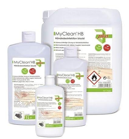 Maimed Myclean Hb Handedesinfektion Biozid 5 Liter Amazon De