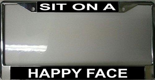 Sit On A Happy Face Frame - Face Frames Online