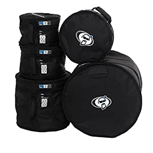 protection racket set10 case for 5 piece drum set musical instruments
