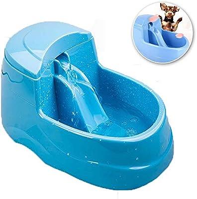 2.5L- Dispensador De Agua para Perros, Fuente para Mascotas,Gato ...