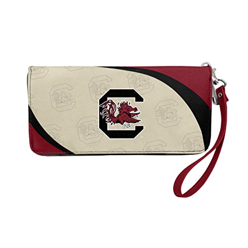 (NCAA South Carolina Gamecocks Curve Zip Organizer Wallet)