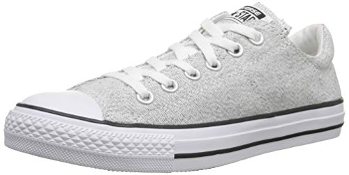 Converse Womens Chuck Taylor All Star Madison White/Black/White Sneaker - 7