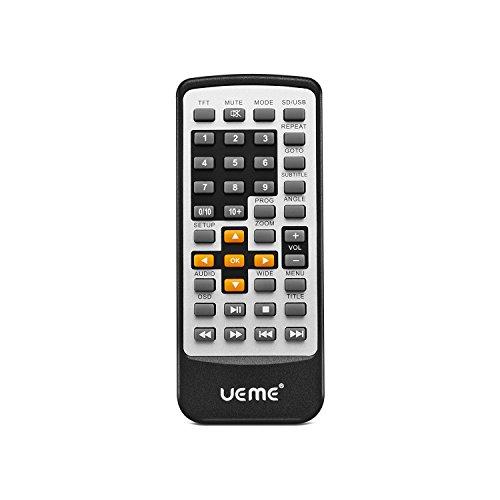 UEME Remote Control PRC-01 for Portabel DVD PD-0091 PD-1010 PD1020