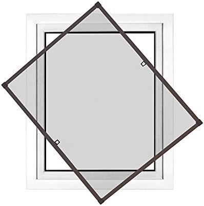 Cadre moustiquaire en Aluminium Individuellement d/écoupable  70cm x 150cm Blanche Jarolift Moustiquaire Profi Line pour fen/être Montage Facile sans percer