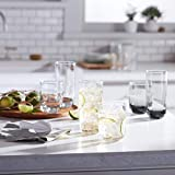 Libbey Polaris 16-Piece Tumbler and Rocks Glass