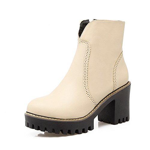 nice BalaMasa Womens Platform Slip-Resistant Fashion Urethane Boots ABL09998