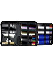 YOSOGO 71- Piece Drawing & Sketching Pencils Set, Artist Kit Includes Colored Pencils, Sketching Pencils Sets with Sketch Book & Drawing Tools