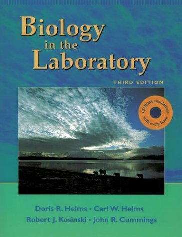 By Doris R. Helms Carl W. Helms Robert J. Kosinski John C. Cummings - Biology in the Laboratory With BioBytes 3.1 (12.2.1996)