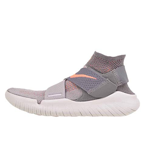 Nike Free RN Motion FK 2018 Womens Shoes Size 8.5 Grey/Coral