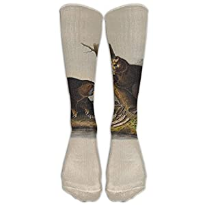 Build U Vintage Beaver Comfortable Stocking Athletic Socks