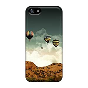 New Grace's Favor Super Strong Balloon On The Sky PC For Ipod Touch 5 Phone Case Cover
