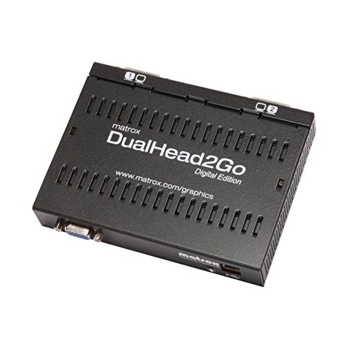 Matrox DualHead2Go Digital Edition D2G-A2D-IF by Matrox