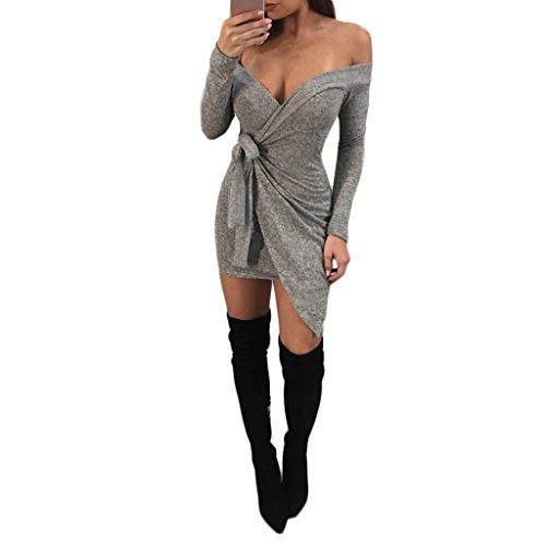 off the shoulder wrap dress - 8