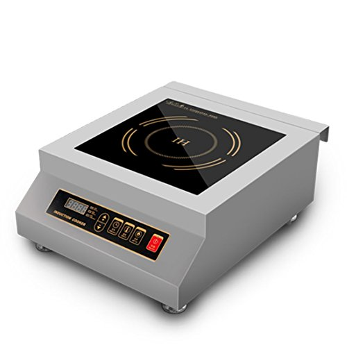 5000W Commercial Restaurant Electric Induction Cooktop Stainless Steel Frame, Induction Stove by Mai Cook