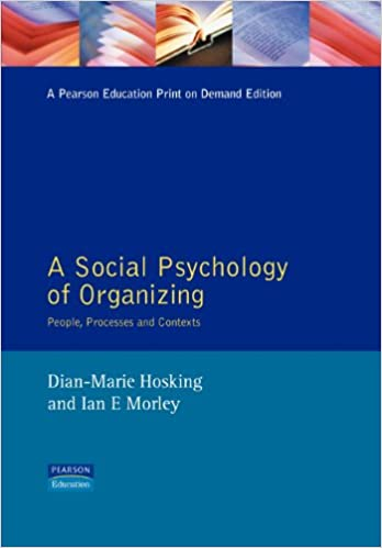 Social Psychology Organization: People, Processes and