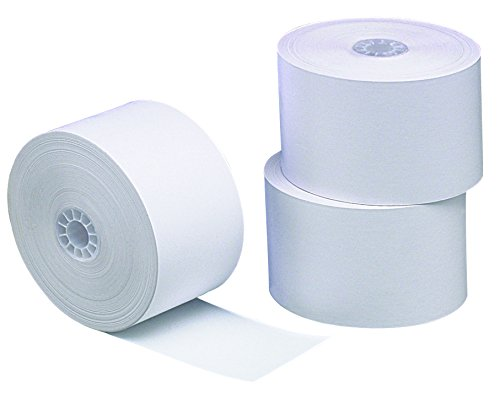 PM Company POS/Cash Register One-Ply Thermal Rolls, 1-3/4 x 230 Feet, 10 Rolls per Pack, White (18998)