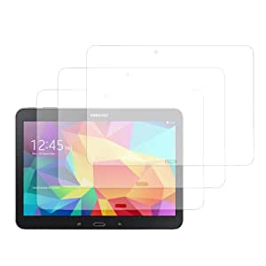 EnGive 3 Packs Crystal Clear Screen Protector for Samsung Galaxy Tab 4 10.1 SM-T530 T531 T535