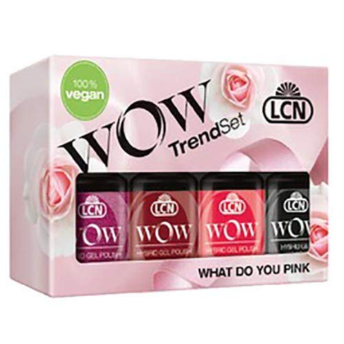 WOW Trendset What Do You Pink? inkl. Top Coat - Edizione Limitata! LCN