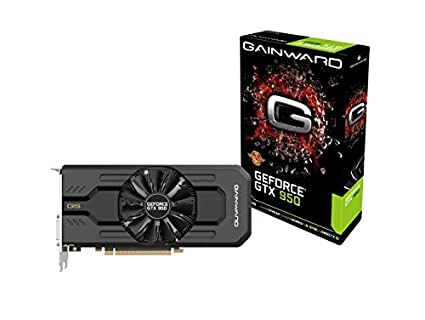Gainward 426018336-3552 GeForce GTX 950 2GB GDDR5 - Tarjeta gráfica (GeForce GTX 950, 2 GB, GDDR5, 128 bit, 4096 x 2160 Pixeles, PCI Express 3.0)