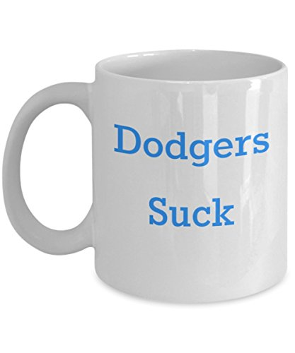 Dodgers Suck SF Giants Coffee Mug Baseball Gifts