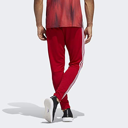 adidas Men's Soccer Tiro 19 Training Pant, Power Red/White, 3X-Large by adidas (Image #2)