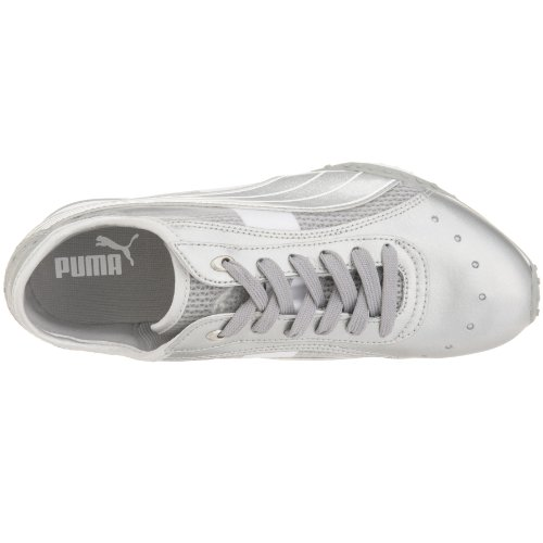 Metallic Puma femme Baskets Lillea Silver 0w0xr5g
