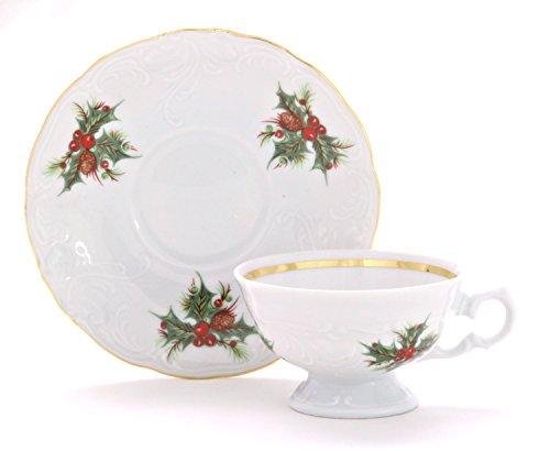 Wawel Tea with Grace Christmas Berry Fine China Tea Set for Children by Wawel (Image #1)