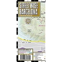 Streetwise Barcelona Map
