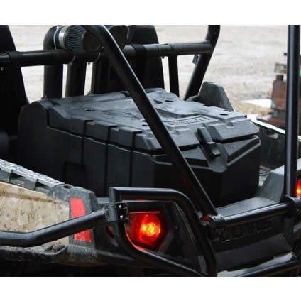 Super ATV Rear Cargo Box For 2008-14 Polaris RZR