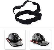 Flashlight Headband Holder,Black Flashlight Headband Headlamp Band Replacement for 18650 Flashlight Outdoor To