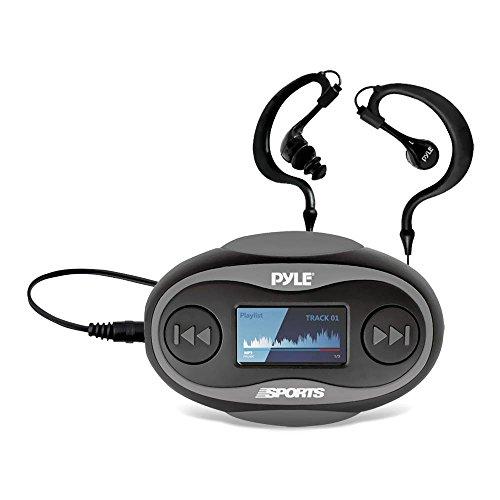 PSWP26BK Waterproof Sport Headphones MP3 Player 8GB Black