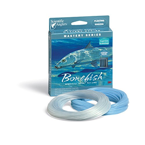 SA Mastery Series Saltwater Sinking Fly Line - Bonefish - WF9S - Clear