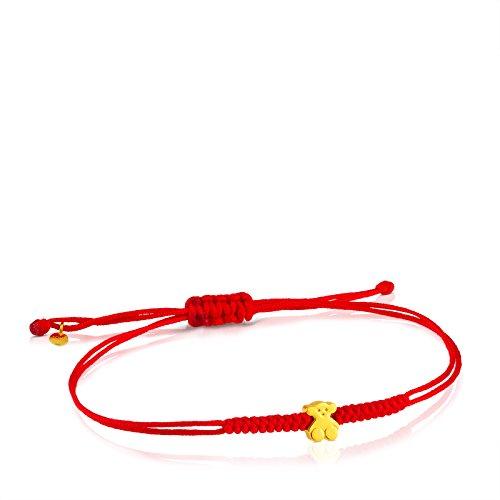 TOUS Sweet Dolls 24k Yellow Gold Rope Bracelet