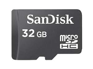 SanDisk 32GB MicroSDHC Card (SDSDQ-032G-A11M, US Retail Package)
