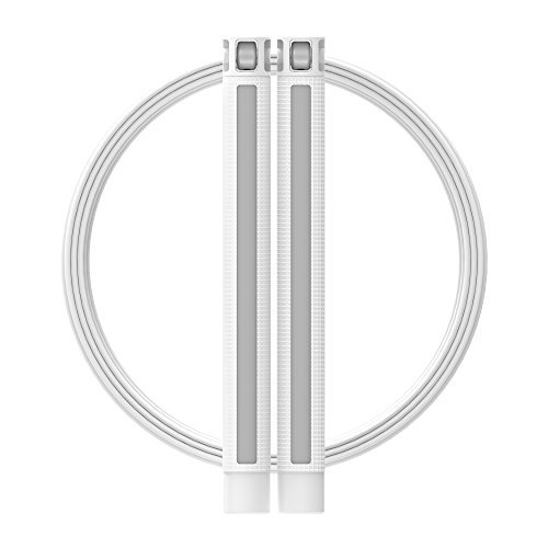 RPM Speed Rope Sprint (White / Gray) by RPM Fitness (Image #2)