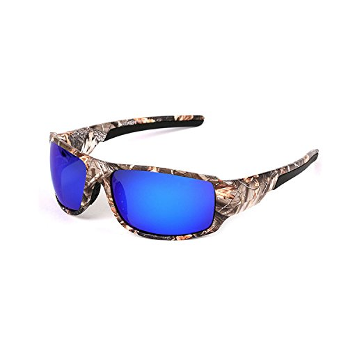 Camouflage Sport Sunglasses Polarized Eyewear for Mens Driving Hunting - Sunglasses Polarized Camo
